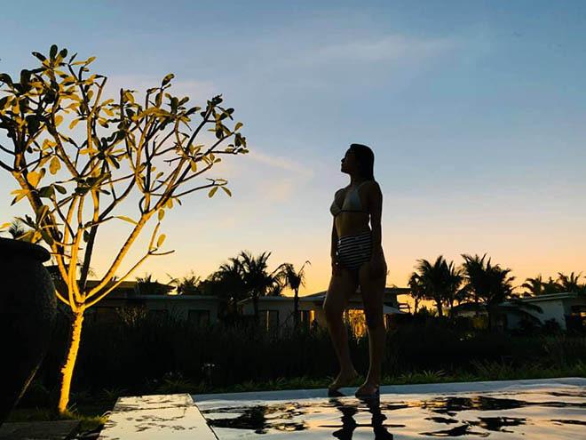 Phạm Quỳnh Anh mặc bikini, khoe vẻ gợi cảm ở tuổi 36 - Ảnh 6.