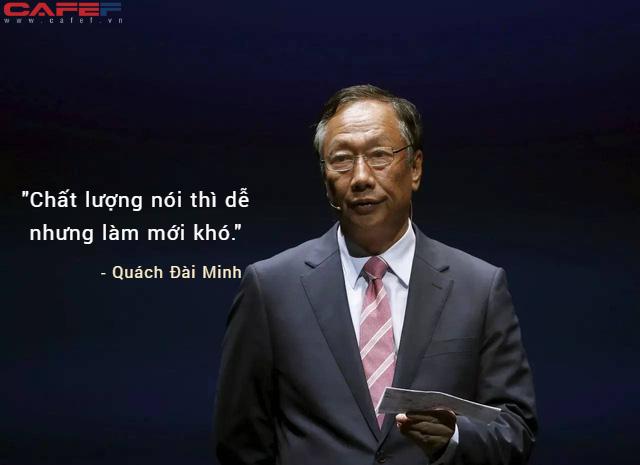 Ông trùm Foxconn Đài Loan: Trưởng thành rồi phải nhớ lấy 3 phẩm chất chỉ thức tỉnh ở người thành công - Ảnh 1.