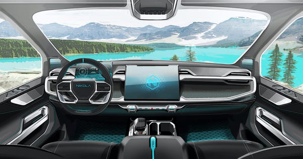 Xe bán tải điện đối thủ của Tesla Cybertruck lộ diện: trâu hơn, thiết kế nội thất như xe tương lai - Ảnh 6.