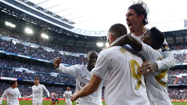 Đánh bại kình địch trong trận đại chiến thủ đô Tây Ban Nha, Real Madrid cho Barcelona hít khói trong cuộc đua vô địch - Ảnh 7.