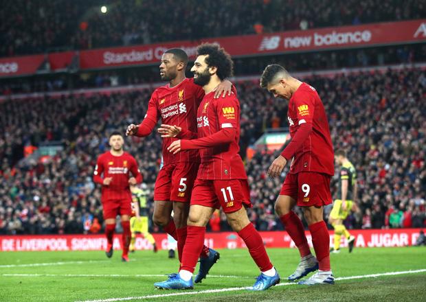 Nhờ pha bóng gây nhiều tranh cãi, Liverpool gia tăng cách biệt với đội nhì bảng lên 22 điểm: BTC nên trao luôn cúp Ngoại hạng cho thầy trò Klopp! - Ảnh 9.