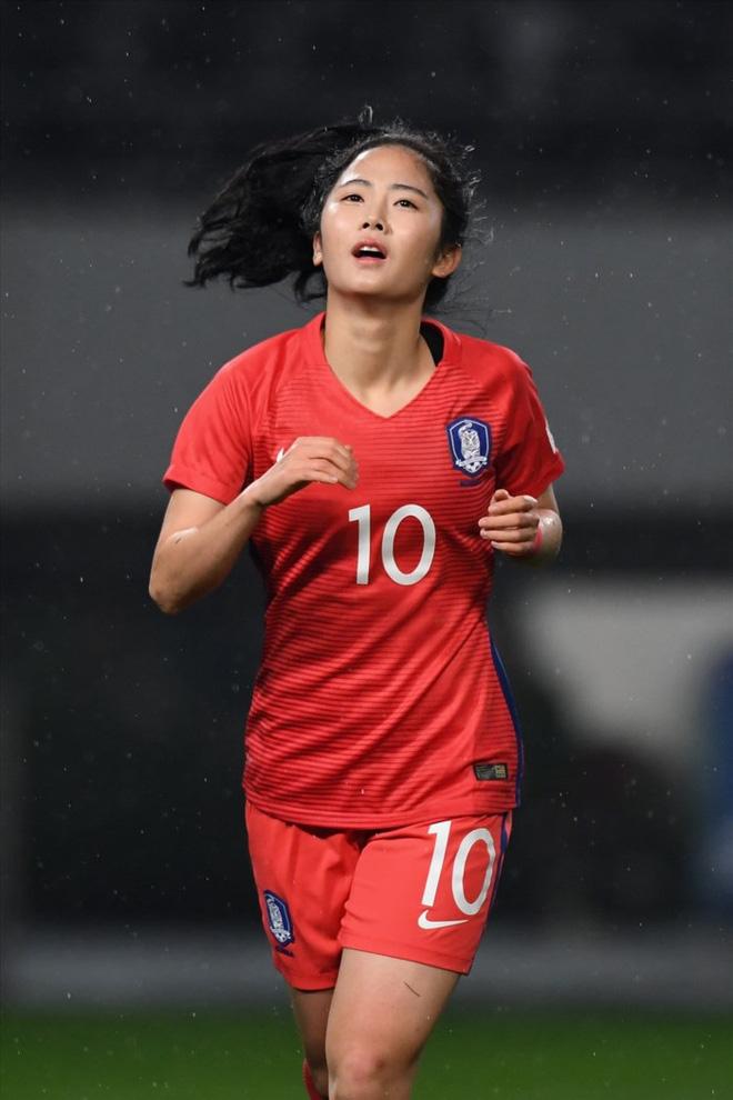 Báo Thái bất ngờ chọn hotgirl tuyển nữ Hoàng Thị Loan vào Top 10 nữ cầu thủ xinh đẹp nhất châu Á - Ảnh 6.
