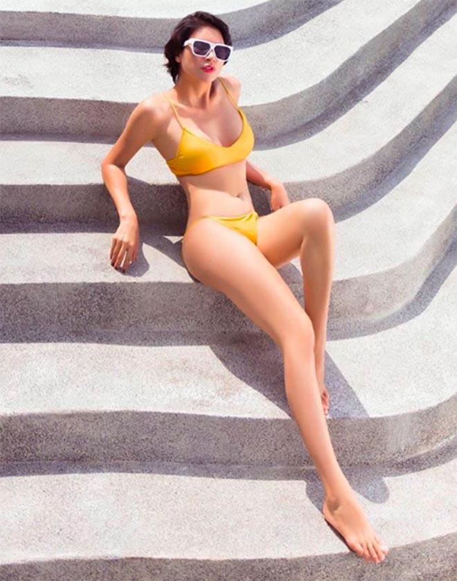 Trang Trần thẳng thắn tiết lộ sự thật sau loạt ảnh bikini nóng bỏng - Ảnh 2.