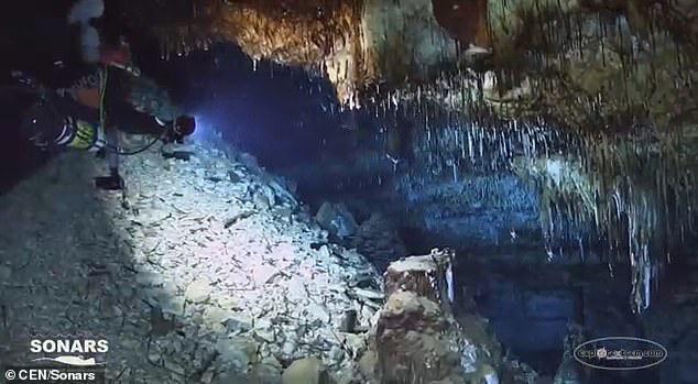 Lặn xuống hang ngầm thời cổ đại, các nhà khảo cổ phát hiện hàng loạt điều bất ngờ  - Ảnh 6.