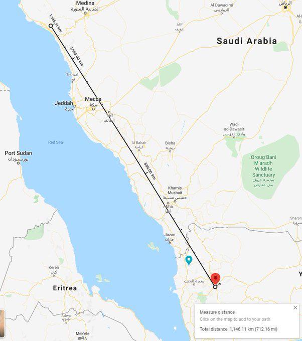 Nguy hiểm, Houthi tấn công Saudi ngay lúc Ngoại trưởng Mỹ Pompeo tới thăm - Ảnh 1.