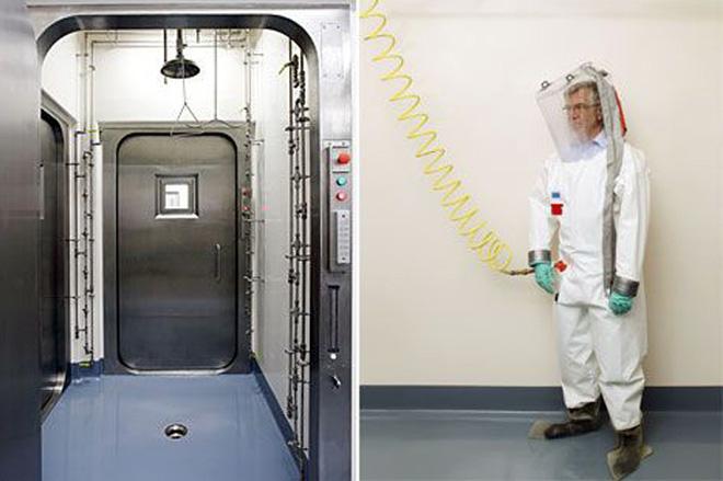 Bên trong phòng thí nghiệm an toàn sinh học BSL-4: Nơi virus không thể nào thoát ra ngoài - Ảnh 1.