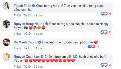 Dù không được mời dự đám cưới nhưng những sao Việt này vẫn dành lời yêu thương gửi đến Tóc Tiên sau khi cô công khai chuyện kết hôn - ảnh 2
