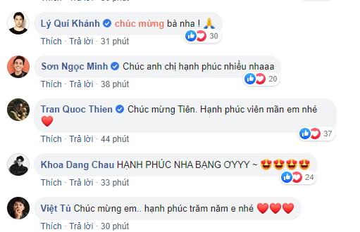Dù không được mời dự đám cưới nhưng những sao Việt này vẫn dành lời yêu thương gửi đến Tóc Tiên sau khi cô công khai chuyện kết hôn - ảnh 3