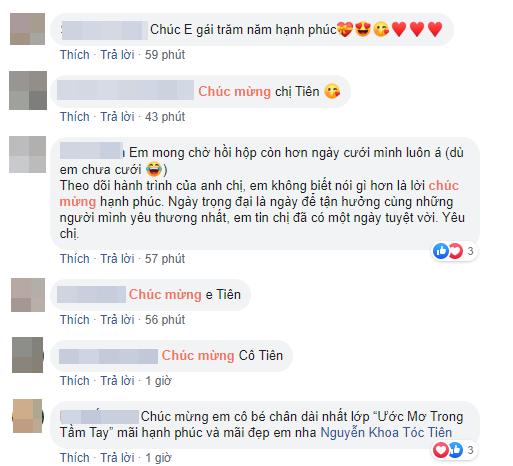 Dù không được mời dự đám cưới nhưng những sao Việt này vẫn dành lời yêu thương gửi đến Tóc Tiên sau khi cô công khai chuyện kết hôn - ảnh 4