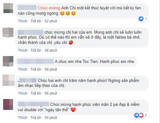 Dù không được mời dự đám cưới nhưng những sao Việt này vẫn dành lời yêu thương gửi đến Tóc Tiên sau khi cô công khai chuyện kết hôn - ảnh 5