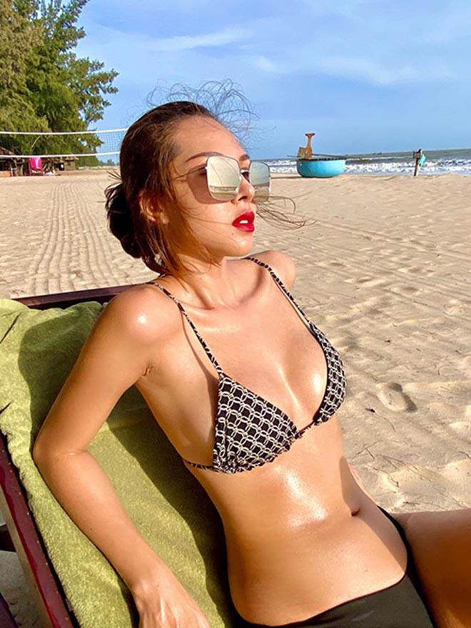 Sở thích mặc bikini của Kỳ Duyên và người yêu tin đồn - Ảnh 8.