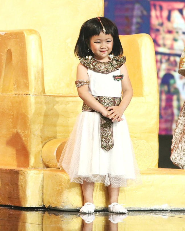 Các mỹ nhân nhí hứa hẹn là nàng thơ cho phim Việt: Toàn thiên thần xinh xắn, có cả Hoa hậu Chu Diệp Anh - Ảnh 3.