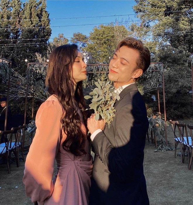 Hai cặp đôi chia tay ồn ào đều xuất hiện trong đám cưới của Tóc Tiên - Ảnh 10.