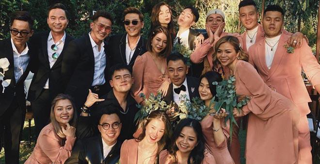 Hai cặp đôi chia tay ồn ào đều xuất hiện trong đám cưới của Tóc Tiên - Ảnh 6.
