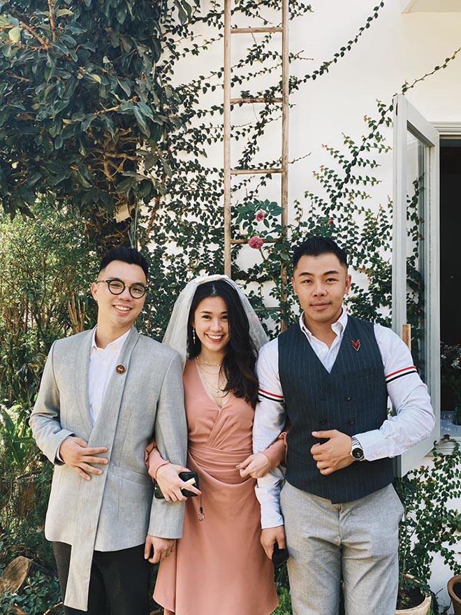 Hai cặp đôi chia tay ồn ào đều xuất hiện trong đám cưới của Tóc Tiên - Ảnh 4.