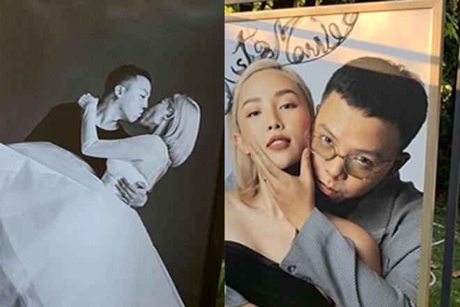 Hai cặp đôi chia tay ồn ào đều xuất hiện trong đám cưới của Tóc Tiên - Ảnh 3.