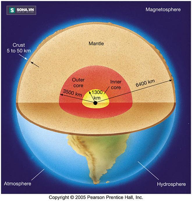 Giải mã: Mất bao lâu để lõi Trái Đất nguội đi và điều khủng khiếp gì sẽ xảy ra sau đó? - Ảnh 1.