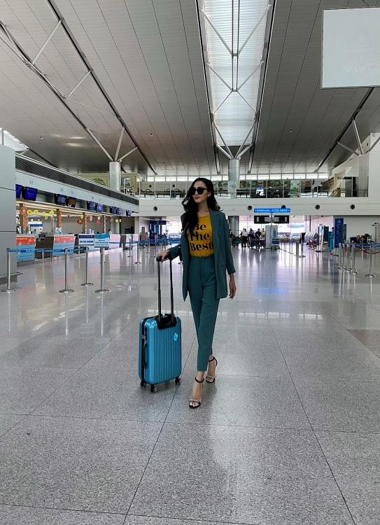 Hoa hậu chuyển giới đầu tiên của Việt Nam Hoài Sa: Mang 120kg hành lý đi Thái, sức khỏe chưa ổn định - Ảnh 4.