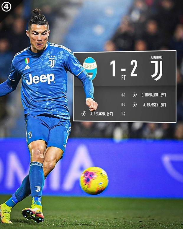 Trong ngày đá trận chính thức thứ 1000, Ronaldo lại tiếp tục san bằng một thành tích đáng nể mà chỉ nghe thôi các fan cũng đã phải trầm trồ - Ảnh 9.