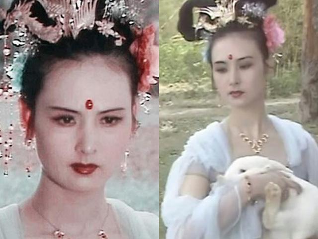 Hằng Nga xinh đẹp kinh điển trên màn ảnh: Mỹ nhân giàu có và bí ẩn nhất Tây Du Ký - Ảnh 4.
