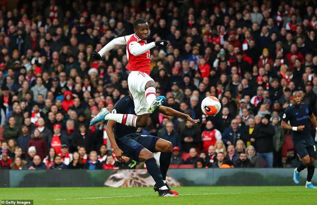 Arsenal 3-2 Everton: Lấy công bù thủ, chiến thắng nghẹt thở! - Ảnh 2.