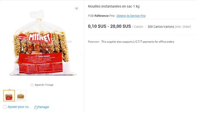 Mì ăn liền Việt âm thầm có mặt tại nhiều trang bán hàng online của nước ngoài với giá bán chắc chắn không hề rẻ - Ảnh 13.