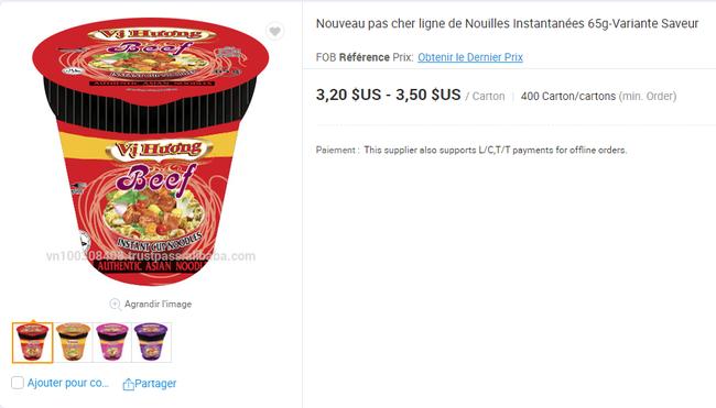 Mì ăn liền Việt âm thầm có mặt tại nhiều trang bán hàng online của nước ngoài với giá bán chắc chắn không hề rẻ - Ảnh 14.