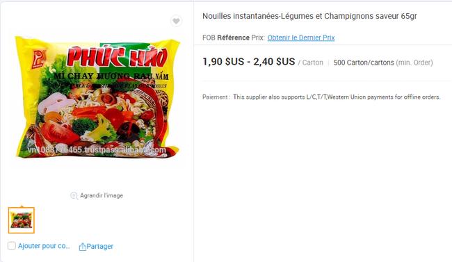 Mì ăn liền Việt âm thầm có mặt tại nhiều trang bán hàng online của nước ngoài với giá bán chắc chắn không hề rẻ - Ảnh 15.