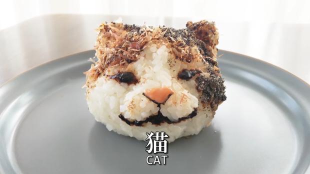 Youtuber người Nhật trổ tài trang trí cơm nắm cực nghệ, trông cưng thế này thì ai đành lòng ăn cơ chứ - Ảnh 18.