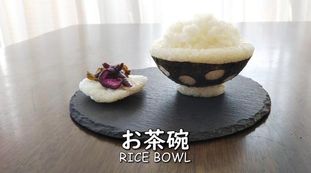 Youtuber người Nhật trổ tài trang trí cơm nắm cực nghệ, trông cưng thế này thì ai đành lòng ăn cơ chứ - Ảnh 3.