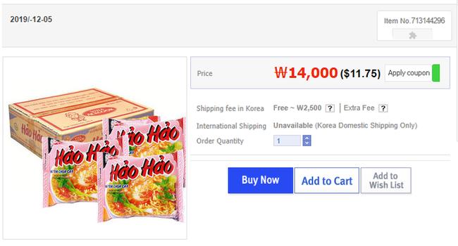 Mì ăn liền Việt âm thầm có mặt tại nhiều trang bán hàng online của nước ngoài với giá bán chắc chắn không hề rẻ - Ảnh 3.