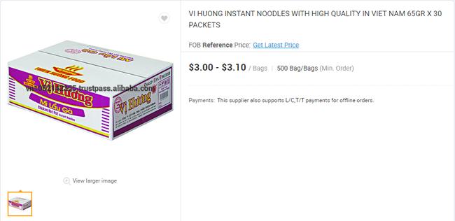 Mì ăn liền Việt âm thầm có mặt tại nhiều trang bán hàng online của nước ngoài với giá bán chắc chắn không hề rẻ - Ảnh 5.