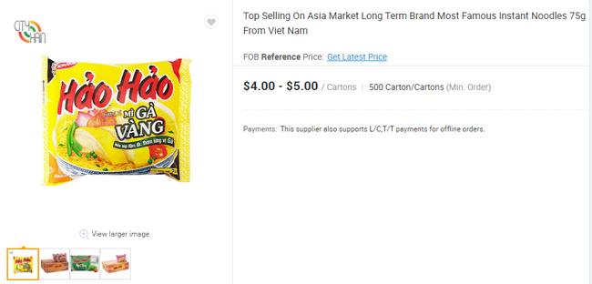 Mì ăn liền Việt âm thầm có mặt tại nhiều trang bán hàng online của nước ngoài với giá bán chắc chắn không hề rẻ - Ảnh 8.