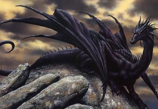 Màu sắc vảy rồng và cách phân chia sức mạnh từng loài trong thần thoại, hóa ra rồng đen là con xấu tính nhất - Ảnh 1.