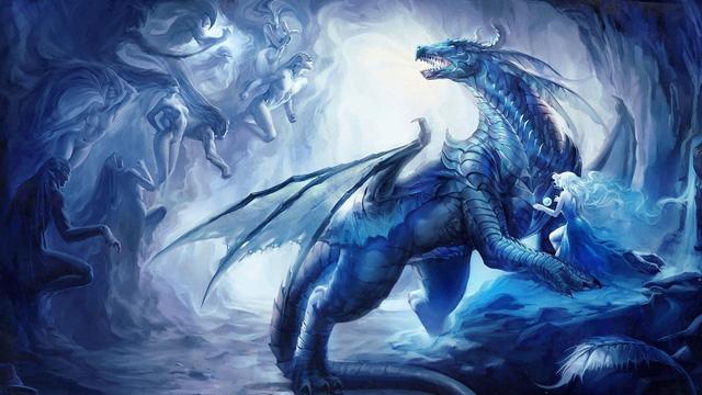 Màu sắc vảy rồng và cách phân chia sức mạnh từng loài trong thần thoại, hóa ra rồng đen là con xấu tính nhất - Ảnh 2.