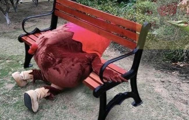 Khoá xe đạp vào ghế trong công viên, lát sau mất cả xe lẫn ghế, cô gái đi tìm thì phát hiện hai tên trộm trong tình trạng khó đỡ - Ảnh 3.