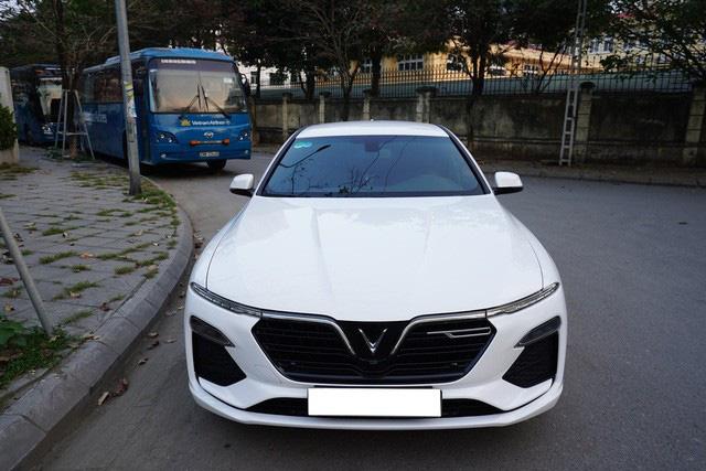 Giá xe VinFast Lux A2.0 chạy lướt hạ nhiệt, xe mới mua 3 tháng bán rẻ ngang Toyota Altis 2020 - Ảnh 6.