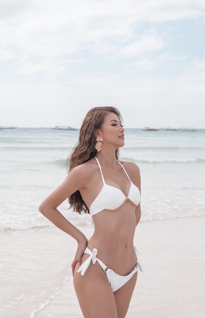 Phương Khánh diện bikini gợi cảm, tự tin khoe cơ bụng săn chắc - Ảnh 4.