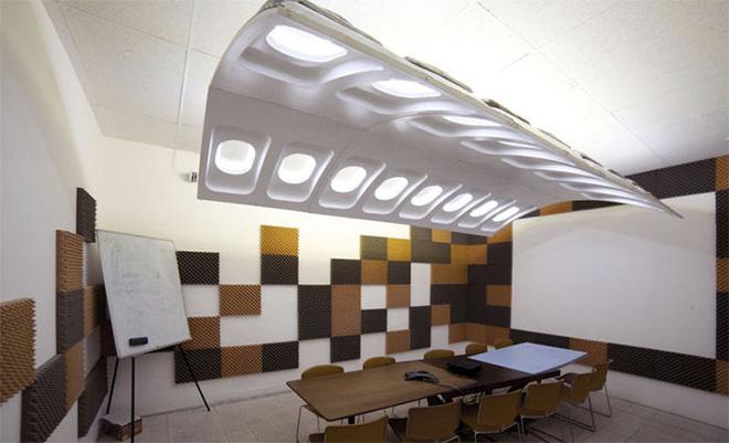 Nếu không có chụp ảnh, sẽ chẳng ai tin loạt nội thất hay ho này được làm từ máy bay cũ! - Ảnh 9.