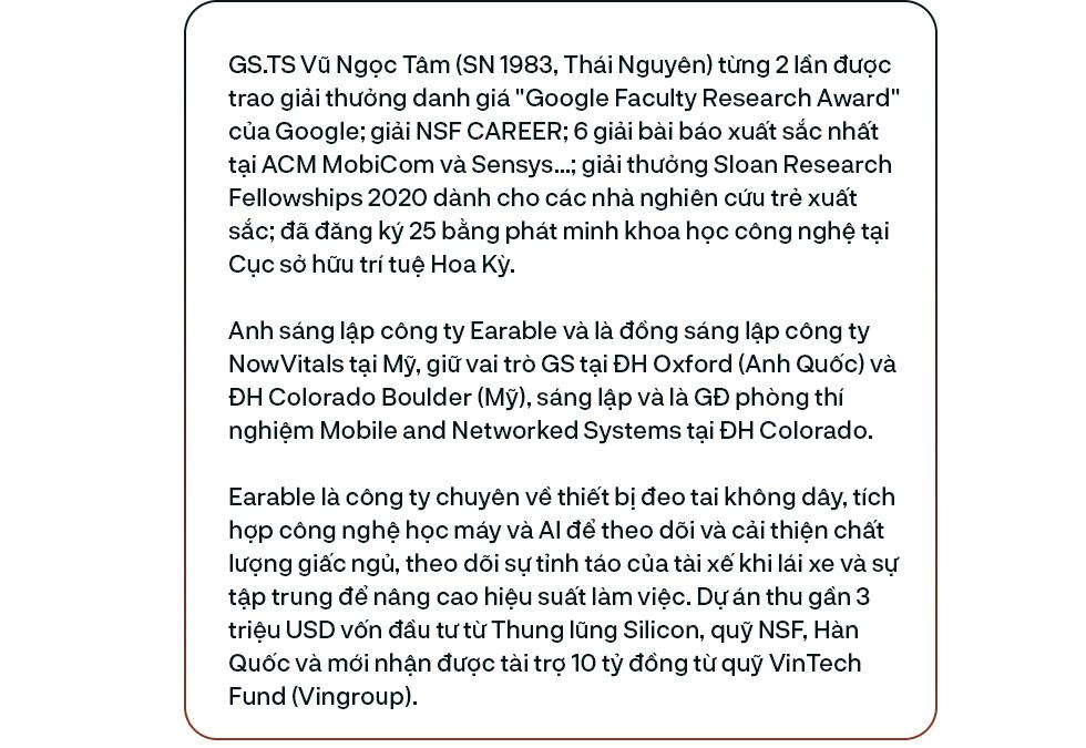 GS người Việt muốn nâng giấc ngủ cho 2,1 tỷ người và 25 bằng sáng chế trên đất Mỹ - Ảnh 1.