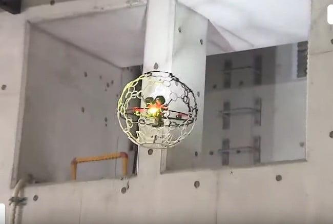 Thiết bị bay không người lái có hình dạng kỳ lạ này đang bay bên dưới mặt đất ở Nhật Bản - Ảnh 2.