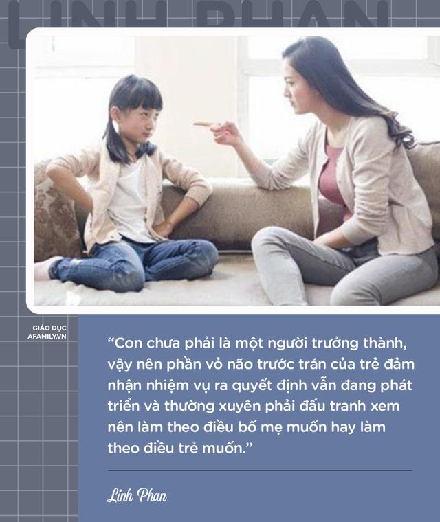 Parent coach Linh Phan chỉ ra 8 nguyên nhân khiến con bướng bỉnh và cách để trẻ vâng lời chỉ sau 1 lần nhắc nhở - Ảnh 2.