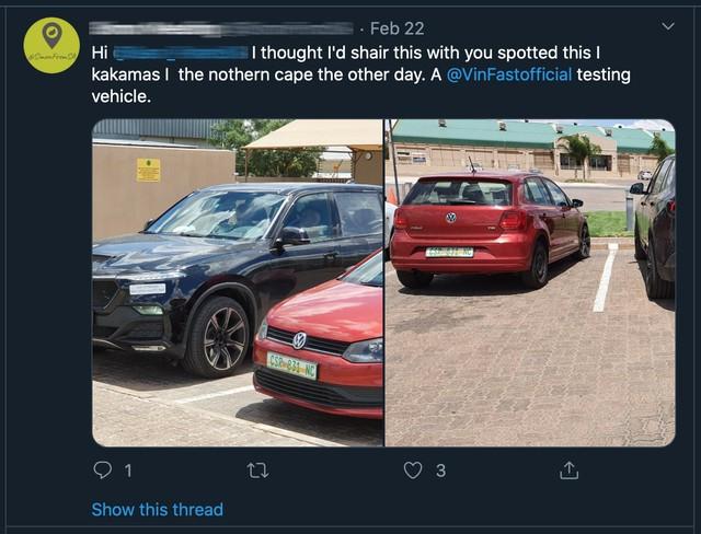 Người dân Nam Phi 'tóm gọn' VinFast Lux SA chạy thử với vài điểm kỳ lạ: 'Đây là sự kết hợp giữa người Đức và người Ý, cảm giác như BMW X5' - Ảnh 4.