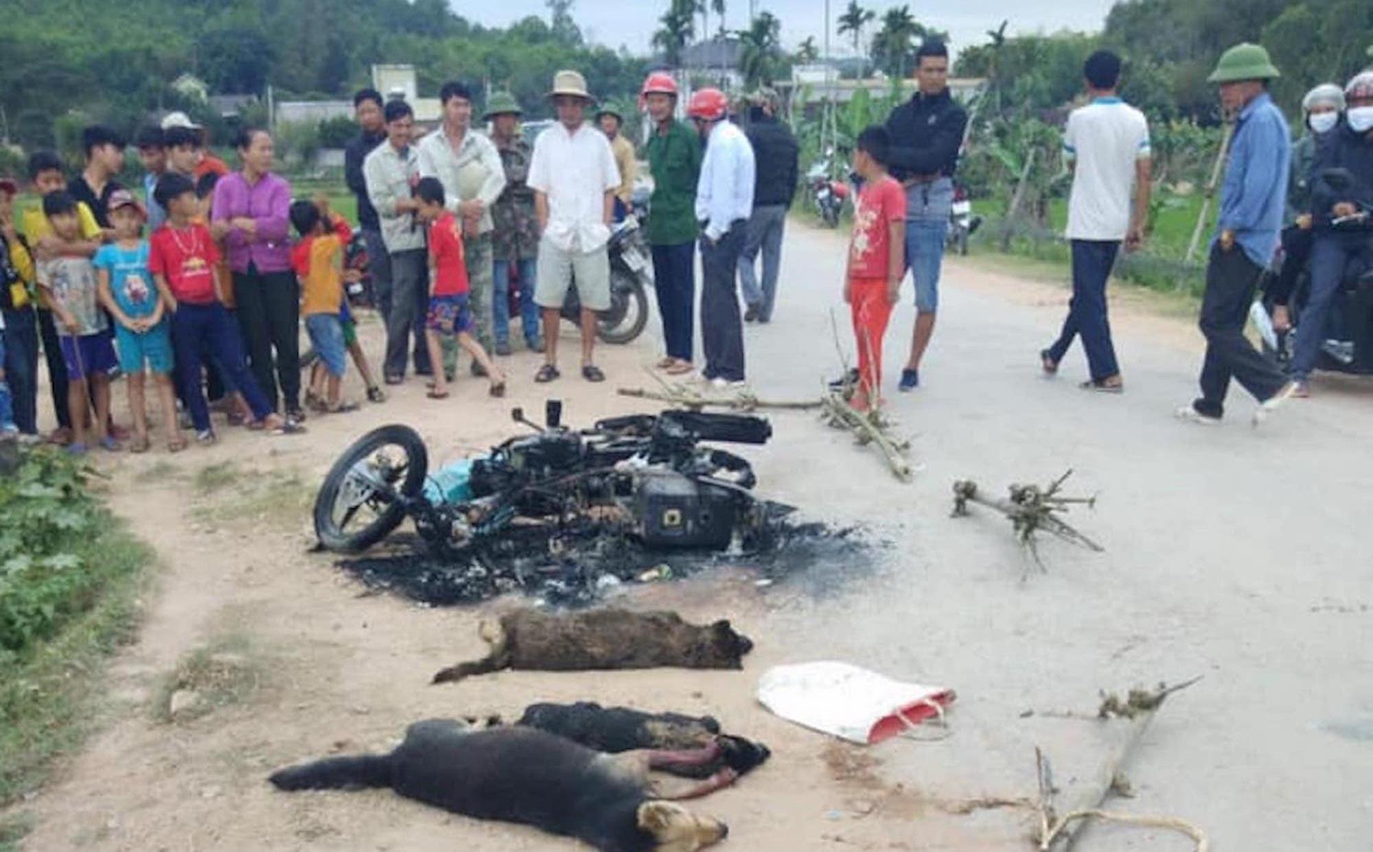 Vụ dân đốt xe, đánh trộm chó tử vong: Chưa bắt được đối tượng đánh người