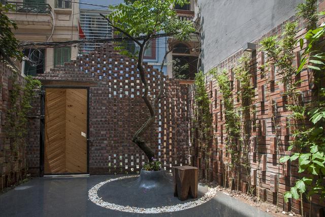 Ngôi nhà 40 m2 tối giản khác biệt trong căn hẻm nhỏ Hà Nội - Ảnh 2.