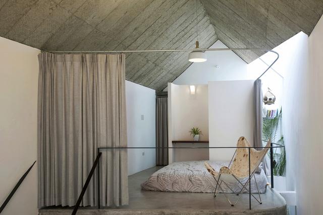 Ngôi nhà 40 m2 tối giản khác biệt trong căn hẻm nhỏ Hà Nội - Ảnh 11.