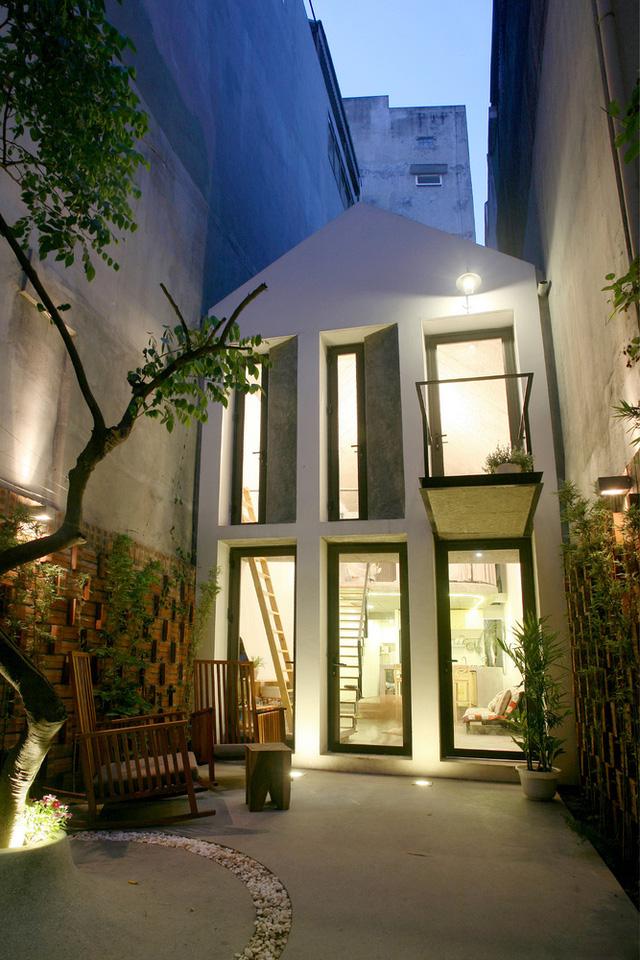 Ngôi nhà 40 m2 tối giản khác biệt trong căn hẻm nhỏ Hà Nội - Ảnh 12.