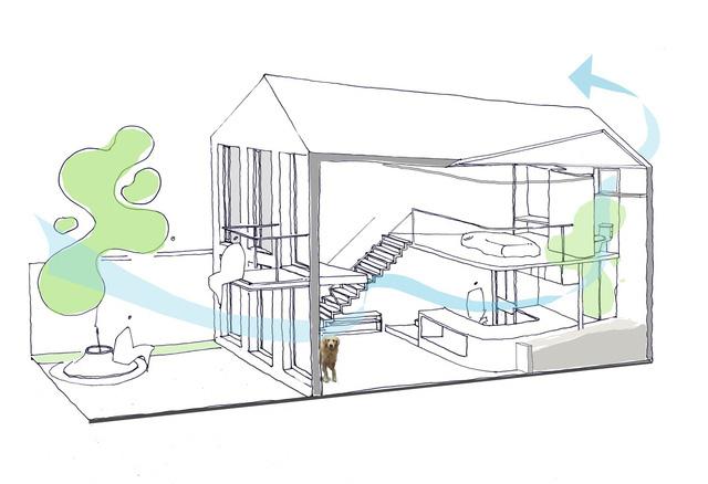 Ngôi nhà 40 m2 tối giản khác biệt trong căn hẻm nhỏ Hà Nội - Ảnh 13.