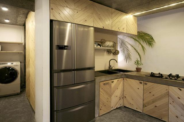 Ngôi nhà 40 m2 tối giản khác biệt trong căn hẻm nhỏ Hà Nội - Ảnh 4.
