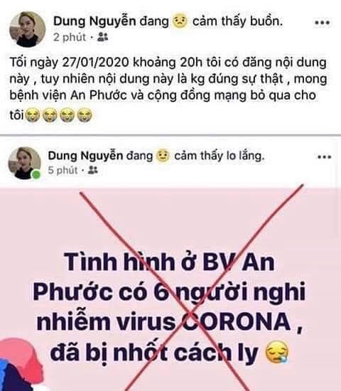 Tung tin 6 người nhiễm virus Corona để câu like bán hàng, người phụ nữ ở Bình Thuận bị phạt 10 triệu đồng - Ảnh 1.